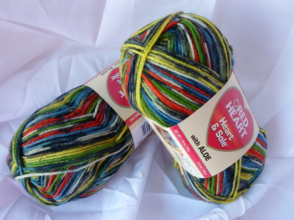 Yarn Sale Congo Heart Amp Sole With Aloe By Red Heart