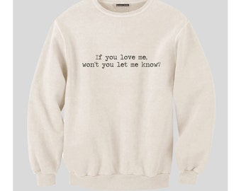 Coldplay Violet Hill Lyrics Sweatshirt