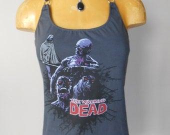 The Walking Dead halter top Diy Horror Halloween