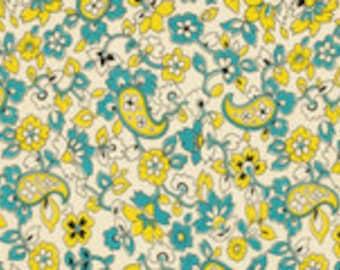Designerstoff, USA, Chicopee - Paisley Lime