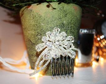 New Rhinestone Bridal Comb Hair Piece