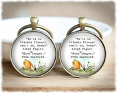Long Distance Friendship Keychains • Best Friend Keyrings • Gifts For Friends • Set of Two