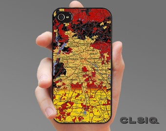 Vintage Berlin Germany Map Case for iPhone 6 5/5s, 4/4s Case, Samsung Galaxy S6, Galaxy S5, Galaxy S4, Galaxy S3
