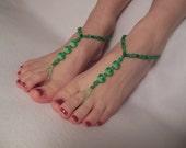 Apple Greens Barefoot Sandals