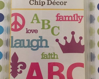 Chip Decor Cricut Cartridge (New)