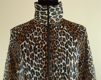 Butterfield Eight Leopard Loungewear Maxi Vintage