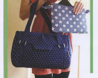 The Tech Travel Bag with Removeable Tablet Sleeve CL-101 by Anna Lankeshofer Patten