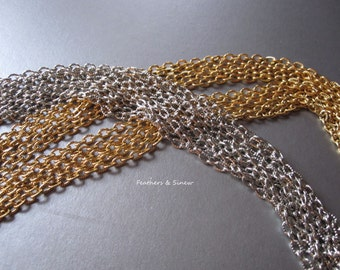 Necklace Chain ~ Fancy Cable ~ 18 inch
