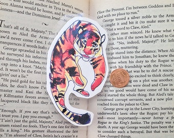 Bengal Tiger Laminated Bookmark