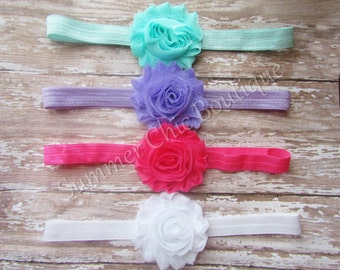 Baby Headband Set of 4, Baby Headband, Infant Headband, Newborn Headband, Toddler Headband, Girls Headband, Baby Headbands