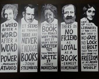 Author Bookmarks Set #2