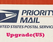 USPS Priority Mail -Shipping upgrade listing for US customers and Rush Shipping upgrade