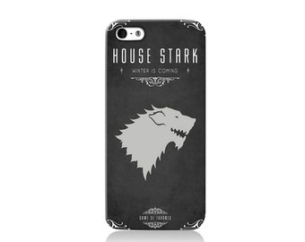 Game of Thrones House Stark iPhone case, iPhone 6 case, iPhone 4 case iPhone 4s case, iPhone 5 case 5s case and 5c case