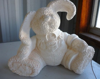 Patch Pal Bunny Bank  Ready to Paint