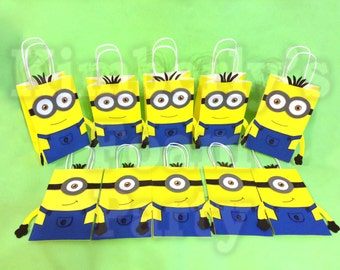 10 Minions Party Bags