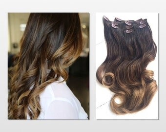 items similar to iced chocolate mocha and caramel ombre
