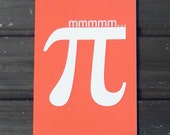 Hmmmm... Pi Card in Orange