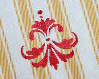INSTANT DOWNLOAD Damask Design Machine Embroidery