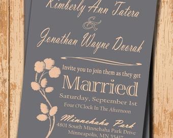 Printable Wedding Invitation