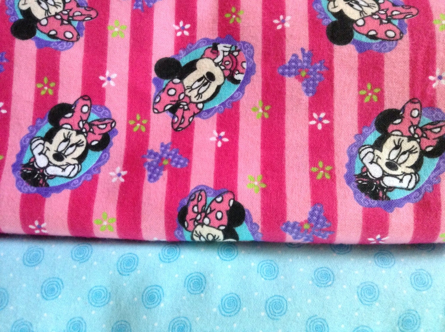 BABY GIRL Blanket Minnie Mouse PERSONALIZED by