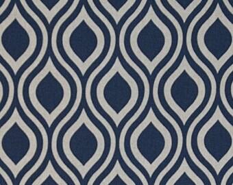 Nicole Indigo Laken Linen Premier Prints Home Decor Weight Fabric by the 1/2 Yard