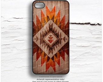 iPhone 6S Case, iPhone 6S Plus Case Red Wood Print, iPhone 5s Case Tribal, iPhone 6 Case, Geometric iPhone Case, Aztec iPhone Cover I86