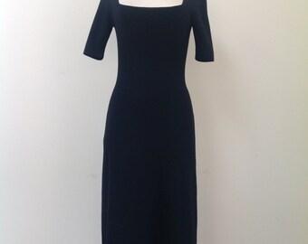 Vintage DOLCE & GABBANA Black Dress