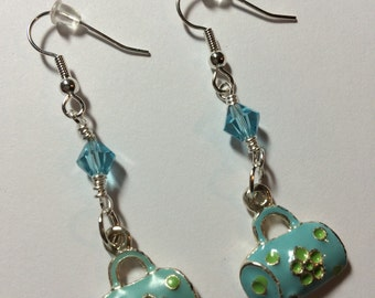 Colorful Purse Earrings