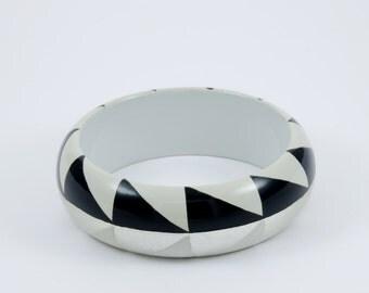 bracelet AGUAYO Black White and Silver