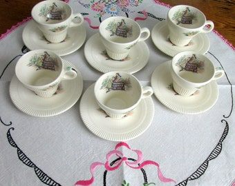 Children's Tea Set, 12 pc, #1