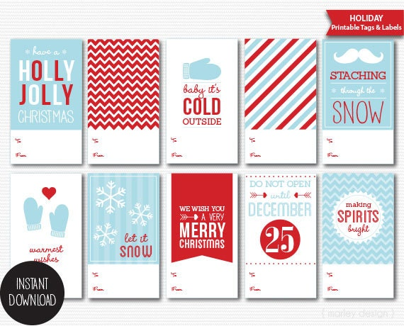 Holiday labels northurthwall holiday labels printable christmas gift tags diy solutioingenieria Choice Image