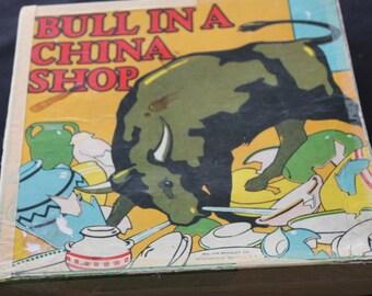 Vintage Bull In a China Shop Game Original Box