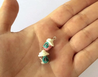 Two Miniature Coffee Charms