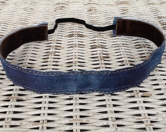 Blue Denim Headband - Girls Fashion Headband