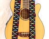Mustache Guitar Strap Multi Color