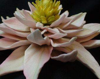 Elegant  Extra large Sugar Gumpaste Water Lily