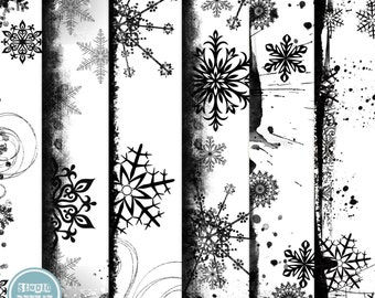 Digital Overlays Pack, Digital Scrapbooking, Christmas Overlays ( 12x12 Inch ) 300 dpi vol.1 - INSTANT Download