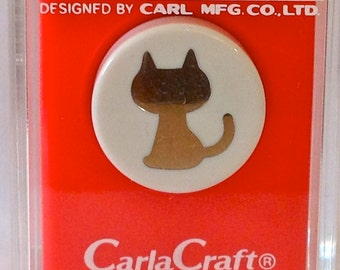 Small Kitty Cat Paper Punch by Carla Craft