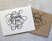 Wedding Thank You Cards. Personalized Thank you Cards. Mr. And Mrs. Folded Notecards. Wedding Stationary