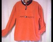 Tommy Hilfiger warm fleece half zip pullover  M
