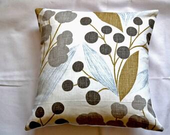 Kravet Abstract Print Linen Pillow Cover