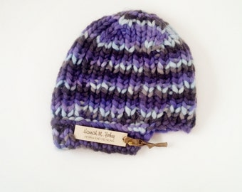 Warmly Knit Adult Beanie Hat
