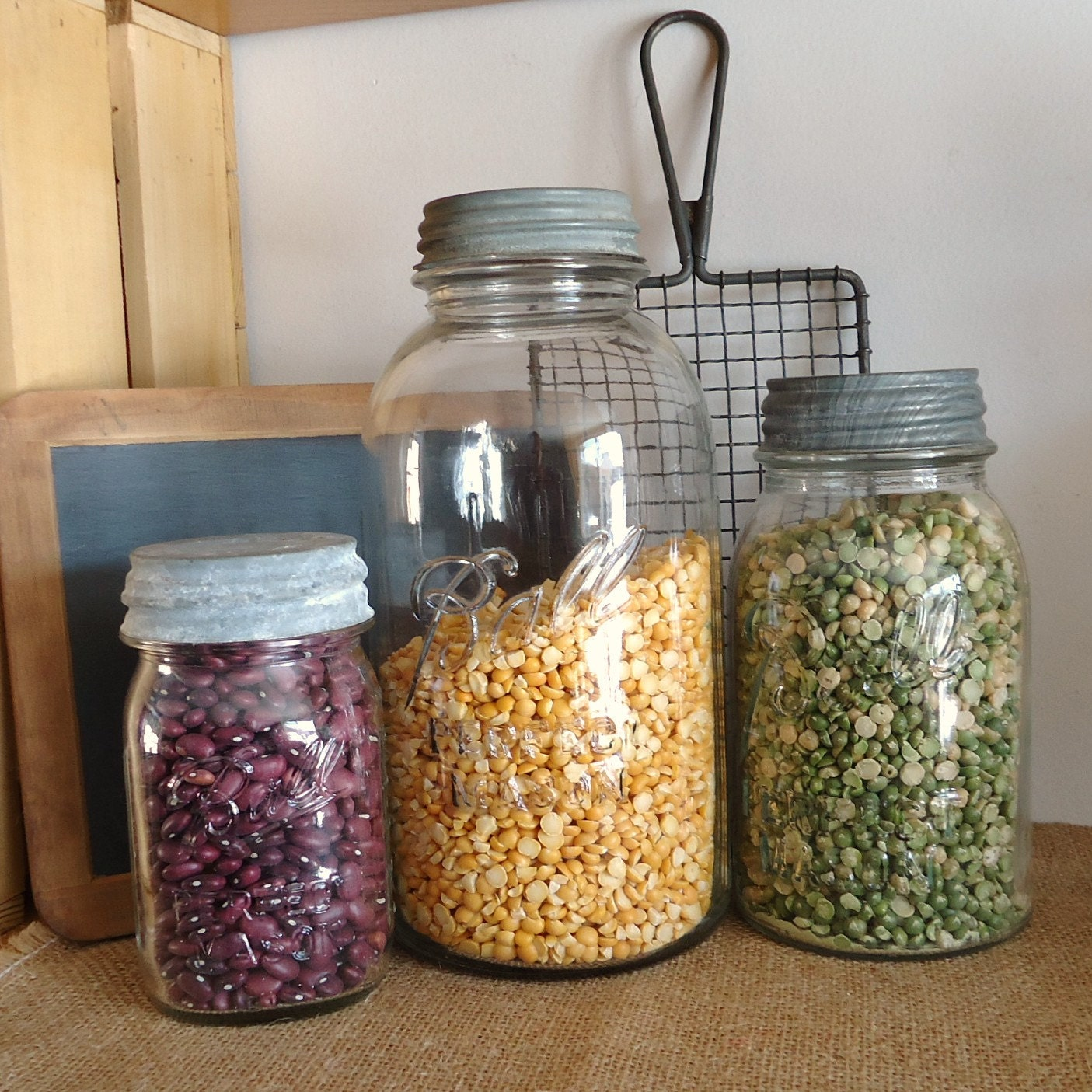 vintage kitchen canisters glass canning jar collection glass calvina stackable glass kitchen canisters