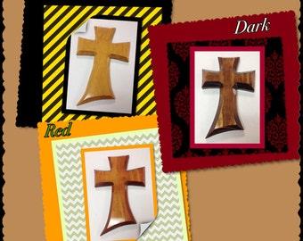 "Extra Large Wood Crosses Style 1  (16""x10"""")"