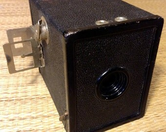 Agfa A8 Cadet Flash Camera Circa 1937 - vintage black box camera