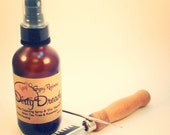 "Dirty Dready. Dreadlock & scalp cleanser, ""dry"" shampoo spritzer, leave-in moisture"