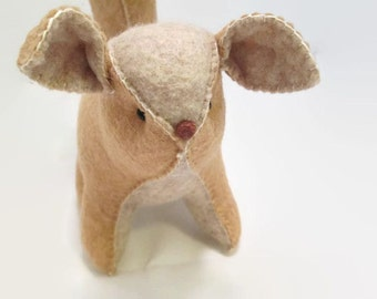 Squirrel - Embossed Felt