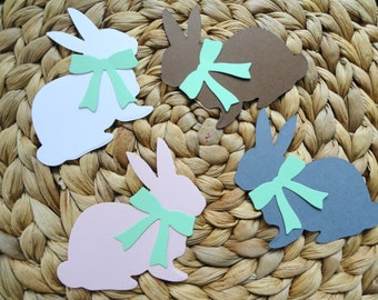 Bunny and Bows Die Cuts Set