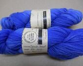 Merino Firestar cobalt blue DK yan