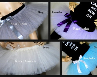 On Sale 38 Colors to Choose From Solid Color Athletic tutus ( 9 inch running tutu)